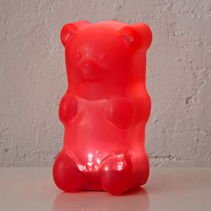 Pink Gummy Bear Night Light