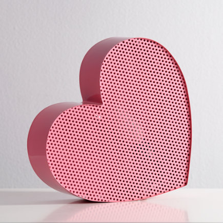 Pink Heart Metal Mesh Nightlight - Heart Pop Icon Nightlight