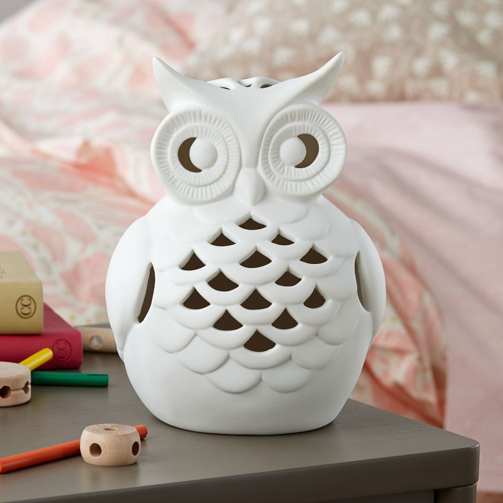 Wide Eyed Owl Nightlight