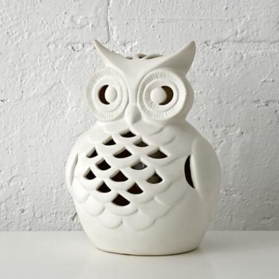Wide Eyed Owl Night Light