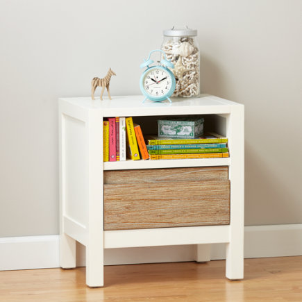 Whitewash  Andersen Nightstand - Whitewash Andersen Nightstand