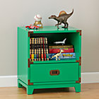 Kelly Green Campaign Nightstand