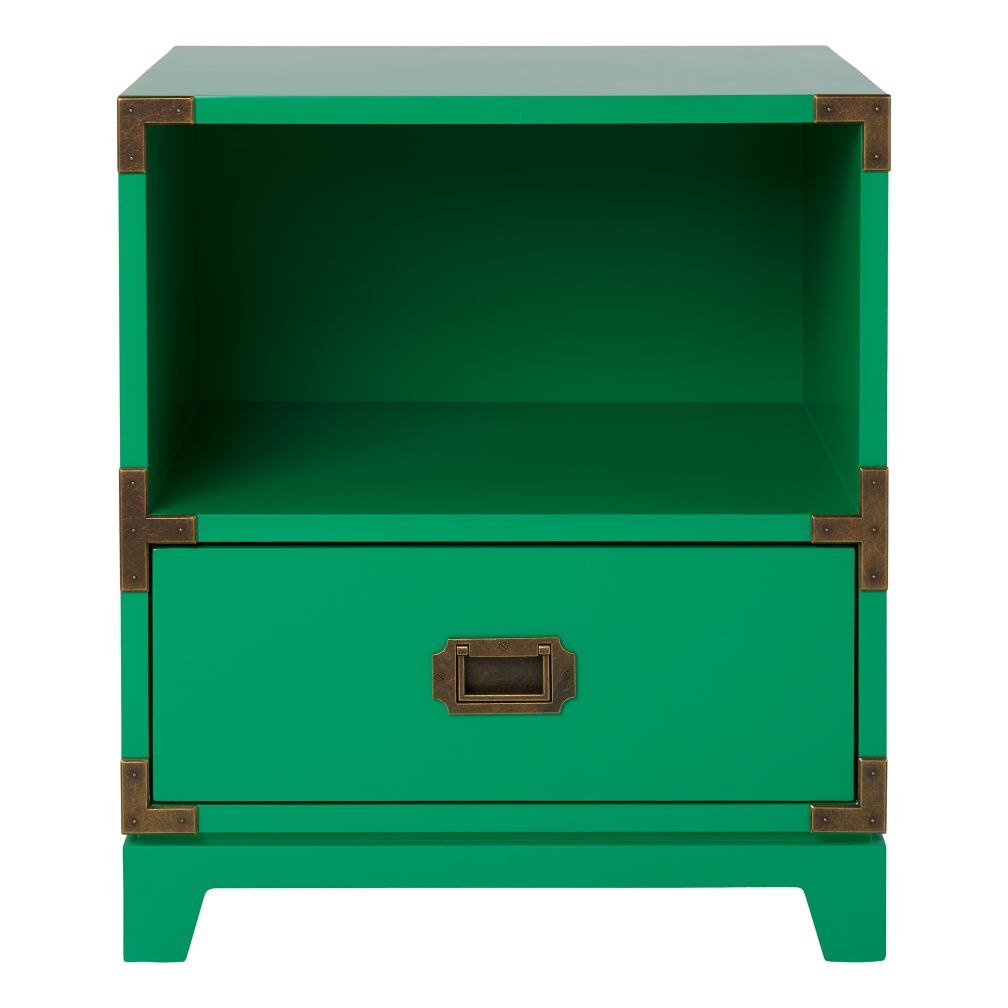 Campaign Nightstand (Green)