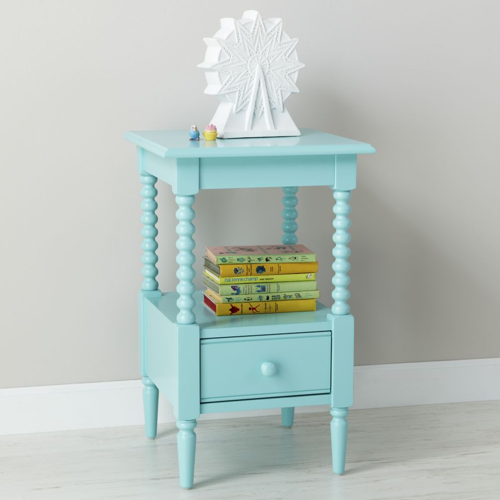Jenny Lind Small Nightstand (Azure)