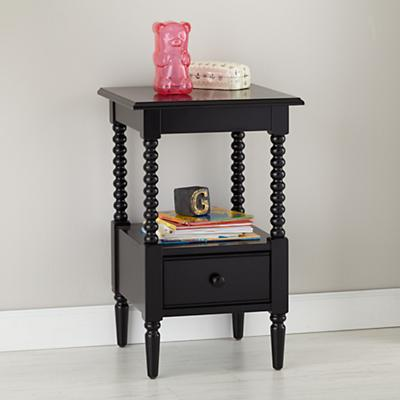 Jenny Lind Small Nightstand (Black)
