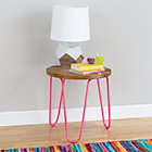 Hot Pink Neon Nightstand