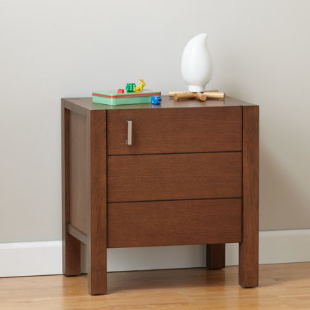 Uptown Nightstand (Brown) - Brown Uptown Nightstand