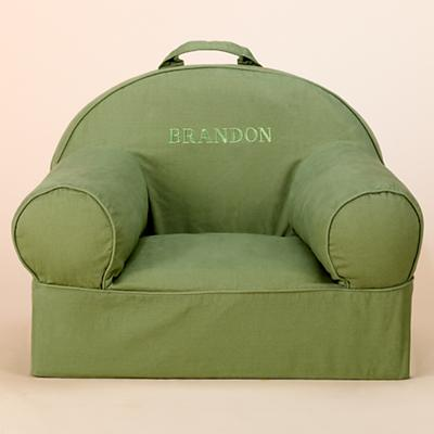 Green Personalized Nod Chair includes Cover and Insert