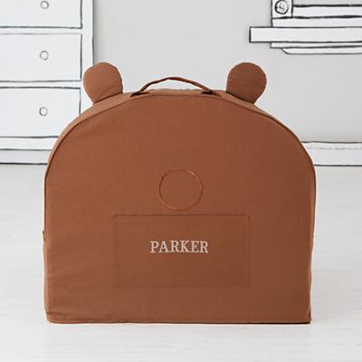 Personalized Executive Pet Nod Chair Cover (Bear)