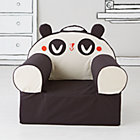 Black Panda Nod Chair Cover