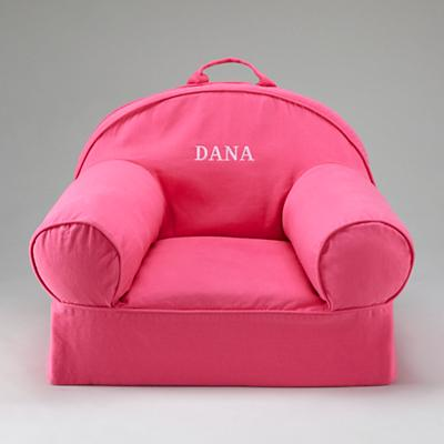 Pink Personalized Nod Chair Cover