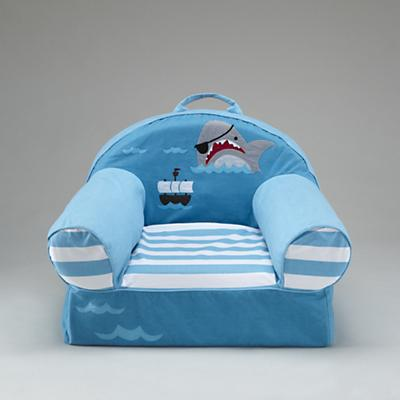 Blue Pirate Nod Chair