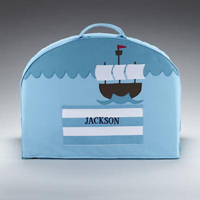 Blue Pirate Personalized Nod Chair