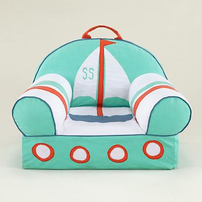 Sailboat Nod Chair Cover