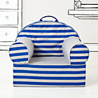 Blue Rugby Stripe Nod Chair(Includes Cover and Insert)