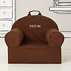 Personalized Brown Nod Chair Cover