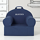 Dk. Blue Personalized Nod Chair Cover