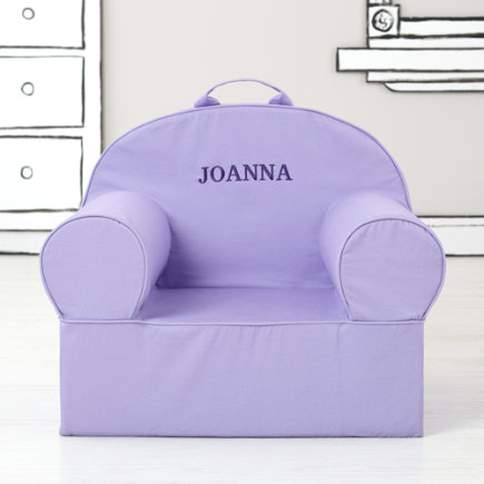 Personalized Lavender Nod Chair (Includes Cover and Insert)