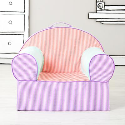 Exective Nod Chair (Pink Piece Stripe)
