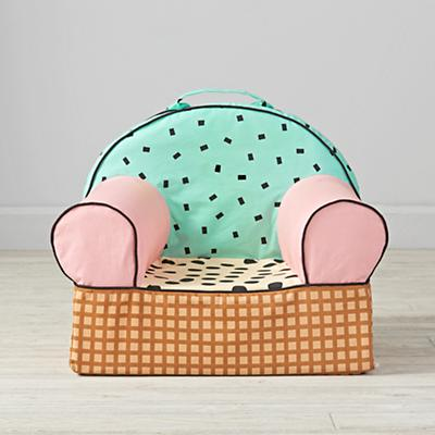 Entry Level Nod Chair Cover (Ice Cream)