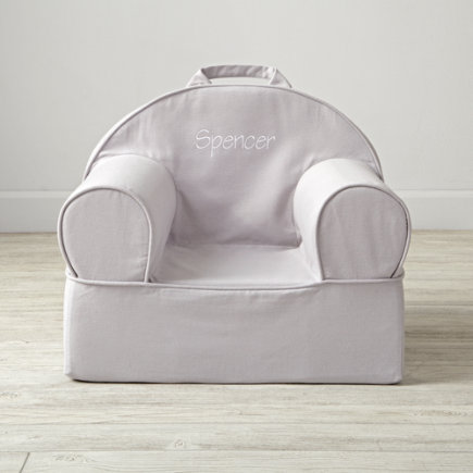 Grey Kids Entry Level Nod Chair - Entry Level Personalized Grey Nod Chair(Includes Cover and Insert)