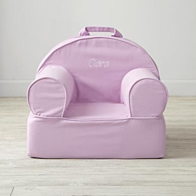 Entry Level Personalized Lavender Nod Chair Cover