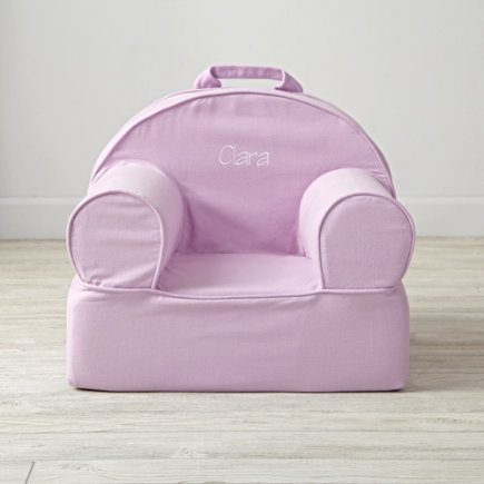 Lavender Kids Entry Level Nod Chair - Entry Level Personalized Lavender Nod Chair<br /><br />(Includes Cover and Insert)