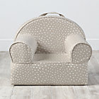 Personalized Khaki Star Mini Nod Chair Cover