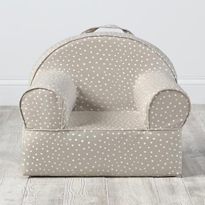 Personalized Entry Level Nod Chair Cover (Khaki Star)