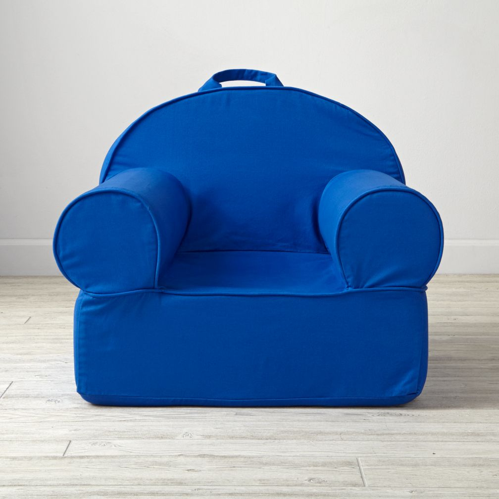 Executive Blue Nod Chair