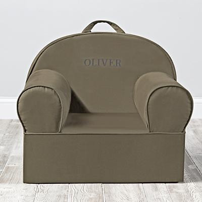 Personalized Executive Nod Chair Cover (Dk. Green)