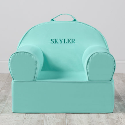 Personalized Mint Executive Nod Chair (Includes Cover and Insert)