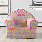 Personalized Floral Nod Chair