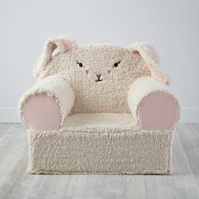 Furry Animal Nod Chair (Bunny)