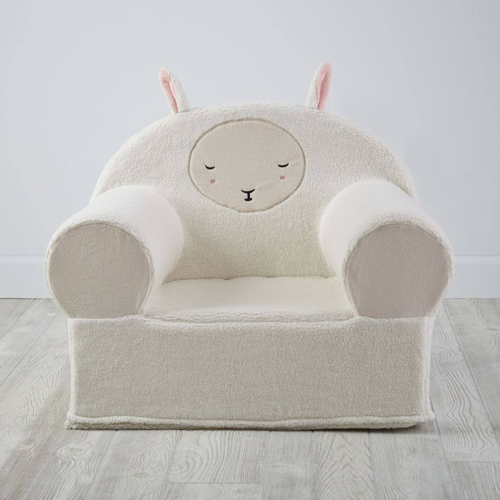 Furry Animal Nod Chair (Sheep)