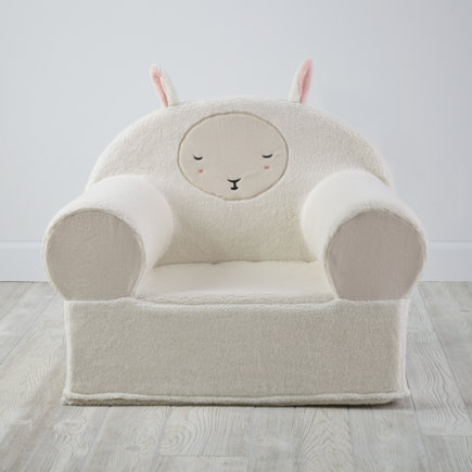 Sheep Personalized Furry Animal Nod Chair (Includes Cover and Insert)