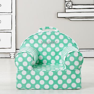Personalized Entry Level Nod Chair (Lt. Green Dot)
