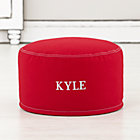 Red Personalized One Seater Cover