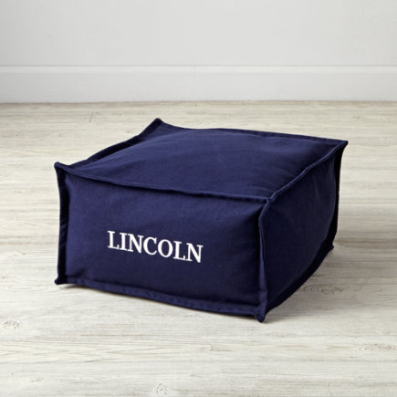 Square Navy Personalized One Seater(Includes Cover and Insert)