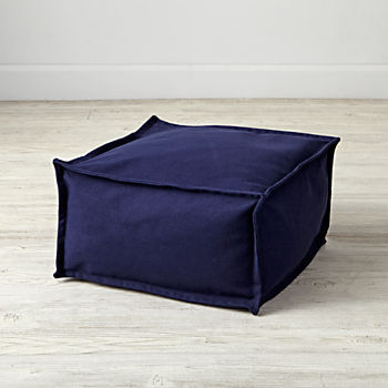 Square Navy One Seater