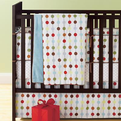 On the Dot Crib Bedding Set
