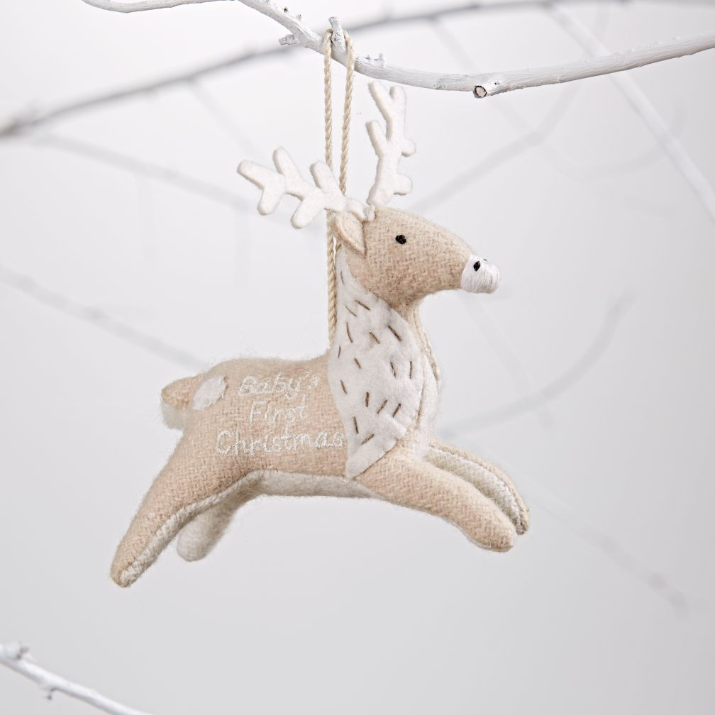 Baby's First Christmas Ornament (Deer)