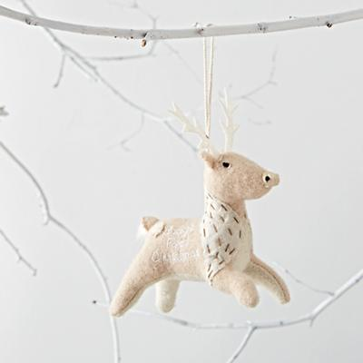 Baby's First Christmas 2016  Deer Ornament