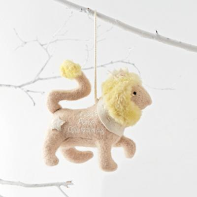 Baby's First Christmas 2016 Lion Ornament