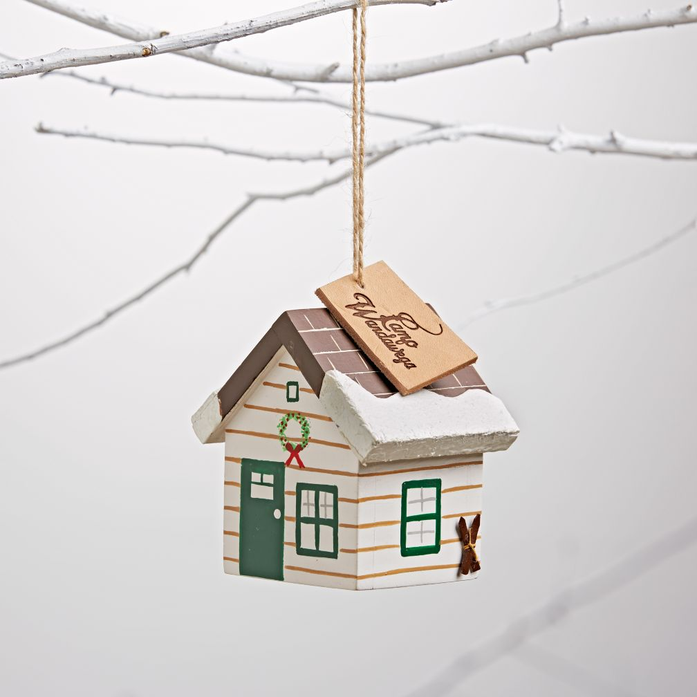 Cabin Retreat Ornament