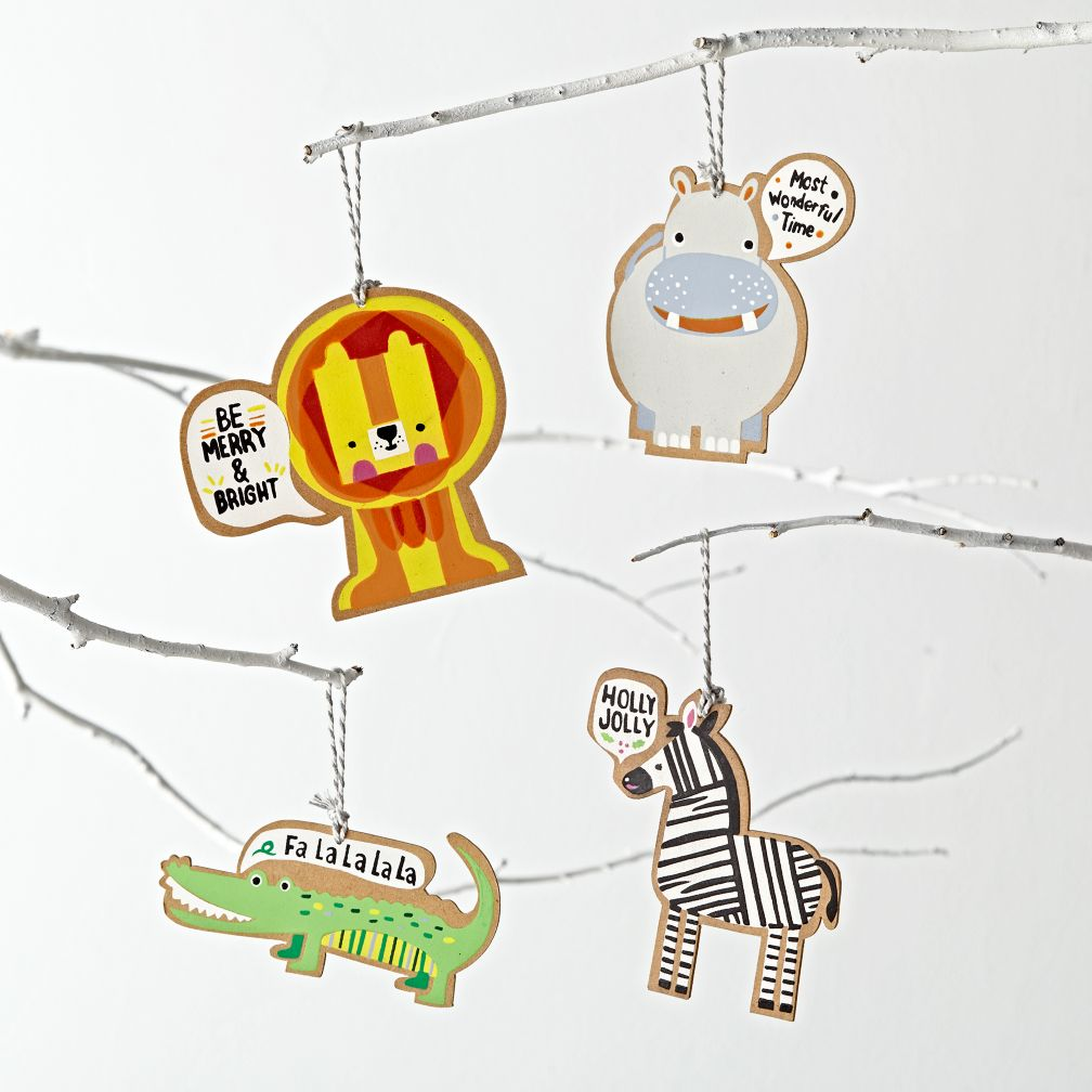 Caroling Creatures Ornaments