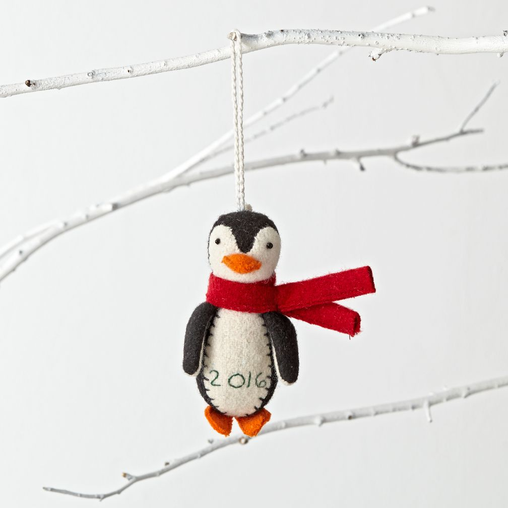 Chilly Penguin 2016 Ornament