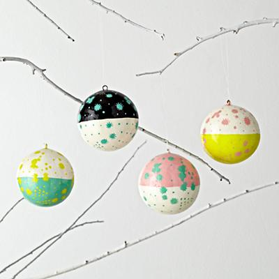Christmas Cheer Ornaments (Set of 4)