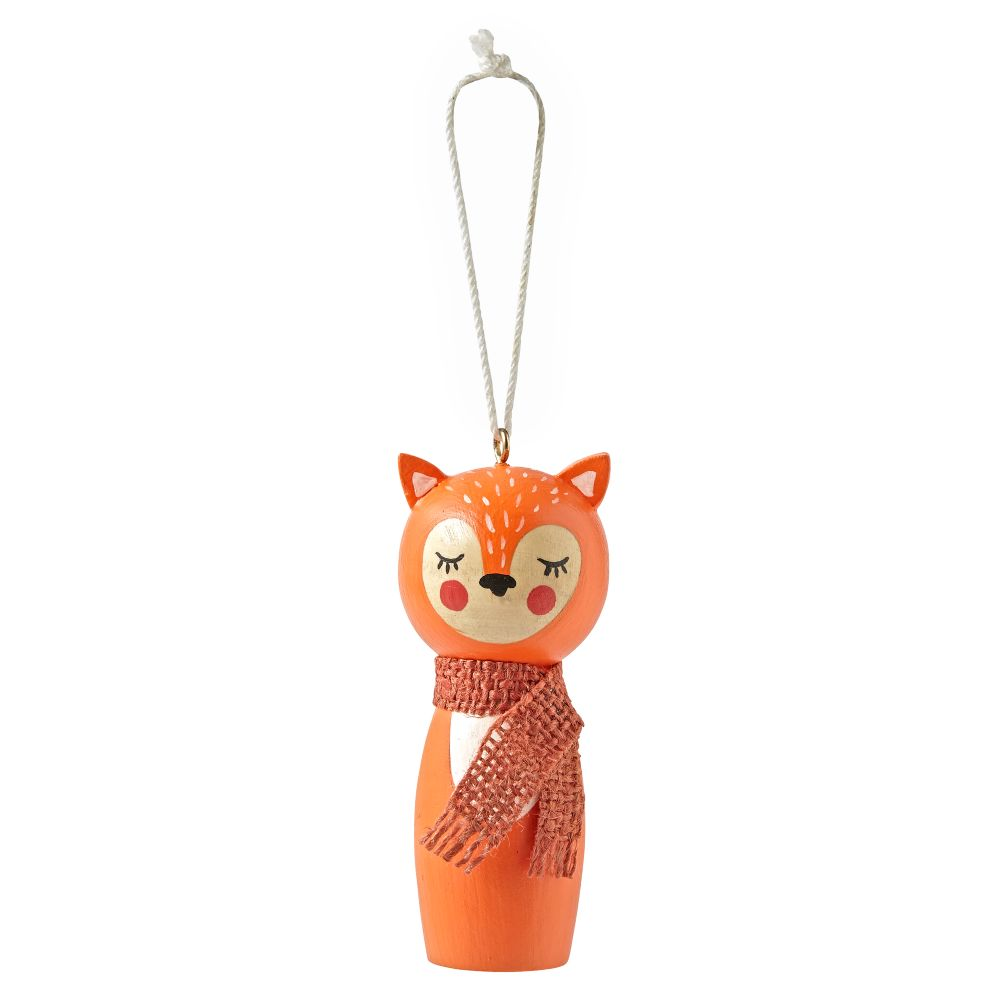 Christmas Crew Fox Ornament