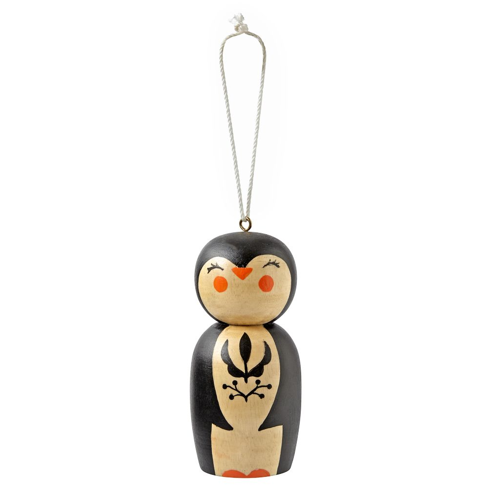 Christmas Crew Penguin Ornament